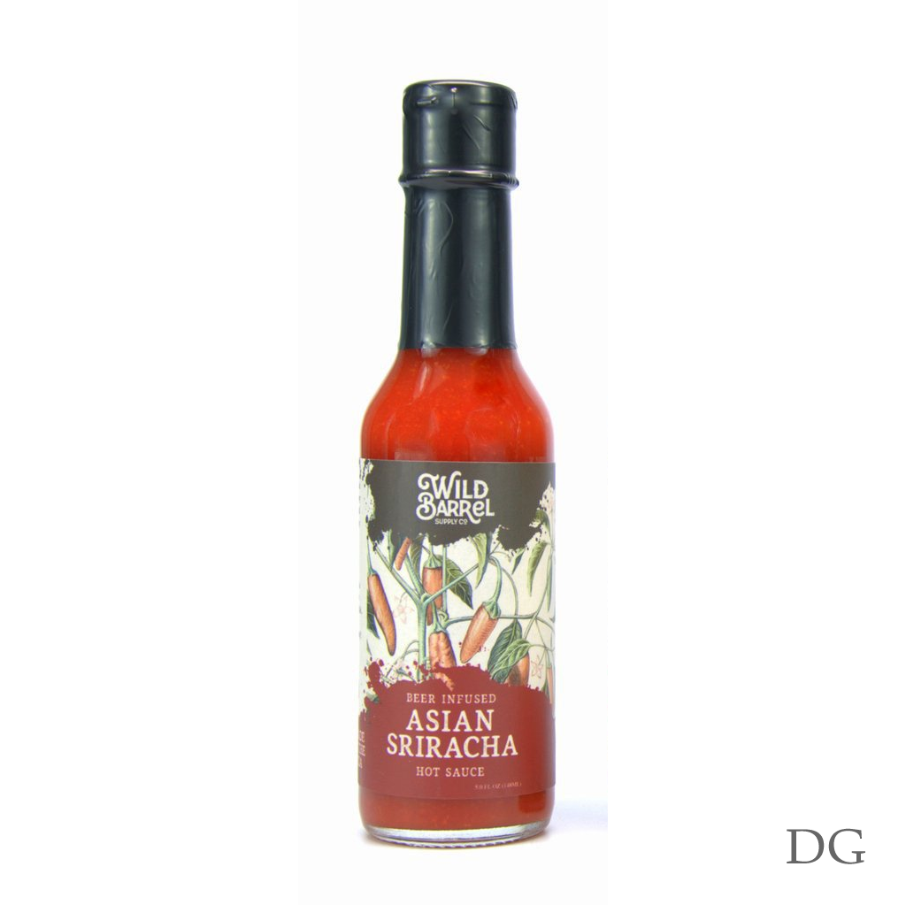 Asian Sriracha Beer Hot Sauce
