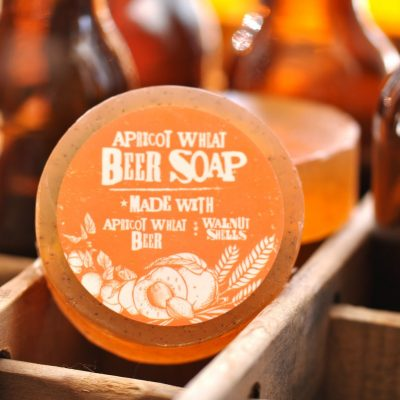 Apricot Wheat Beer Soap