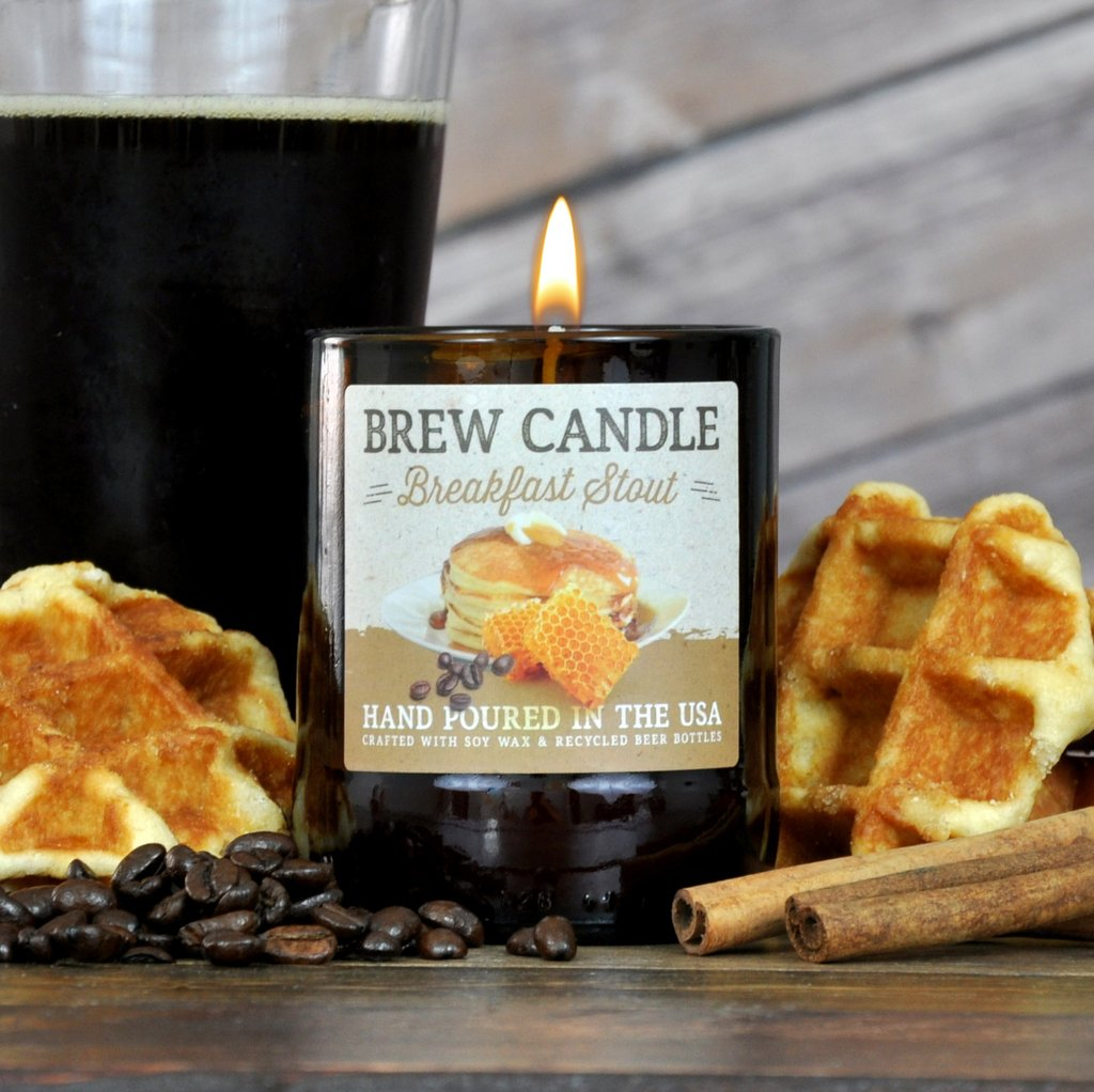Breakfast Stout Brew Candle
