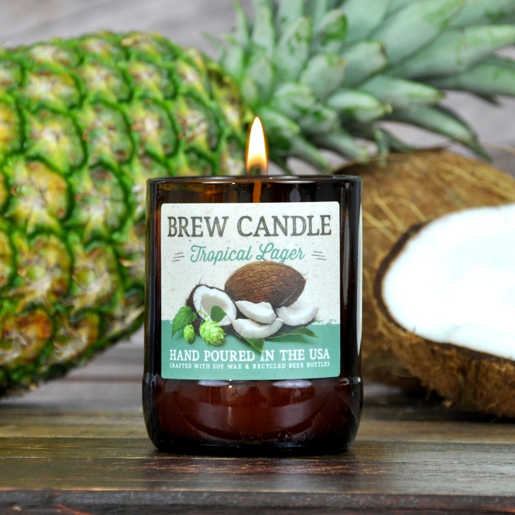 Tropical Lager Brew Candle